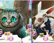 Alice in wonderland similarities l�nyos j�t�kok