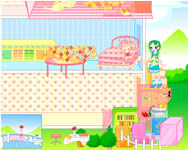 Barbie house online j�t�kok