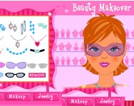 Beauty makeover on-line flash