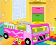 Design your kids room online csajos játék