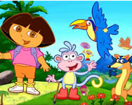 Dora the explorer hidden objects online játék