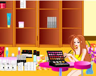 Make up store decoration online csajos j�t�k