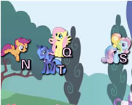 My Little Pony typing l�nyos j�t�kok