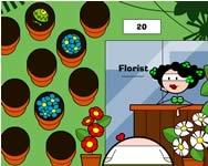 The florist game online játék